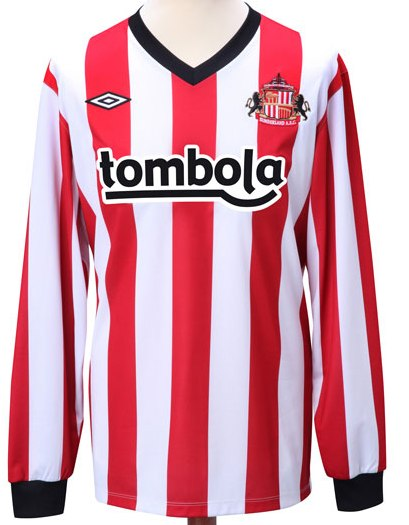 home kit - sunderland