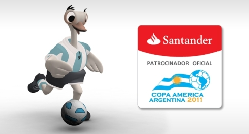 Tangolero; the official mascot of the 2011 Copa America