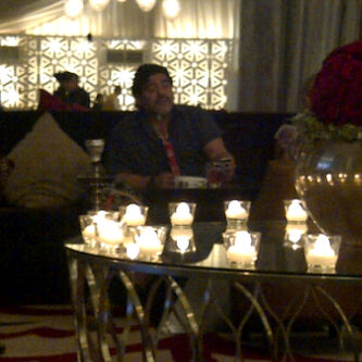 Diego Maradona Having Iftar - 05