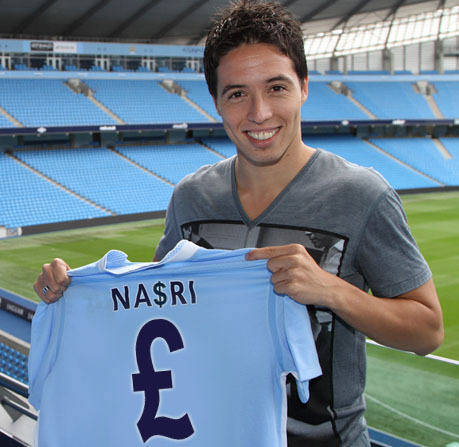 Samir Nasri by @FourFourTom