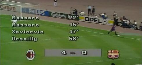 AC Milan vs Barcelona - Champions League Final 1994 - 4-0