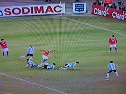Suazo vs Argentina