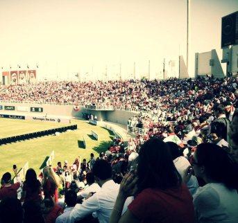 Lebanese Fans in Al Nahyan Stadium