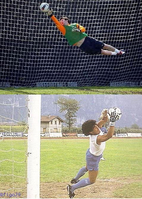 Messi vs Maradona Goalkeepers