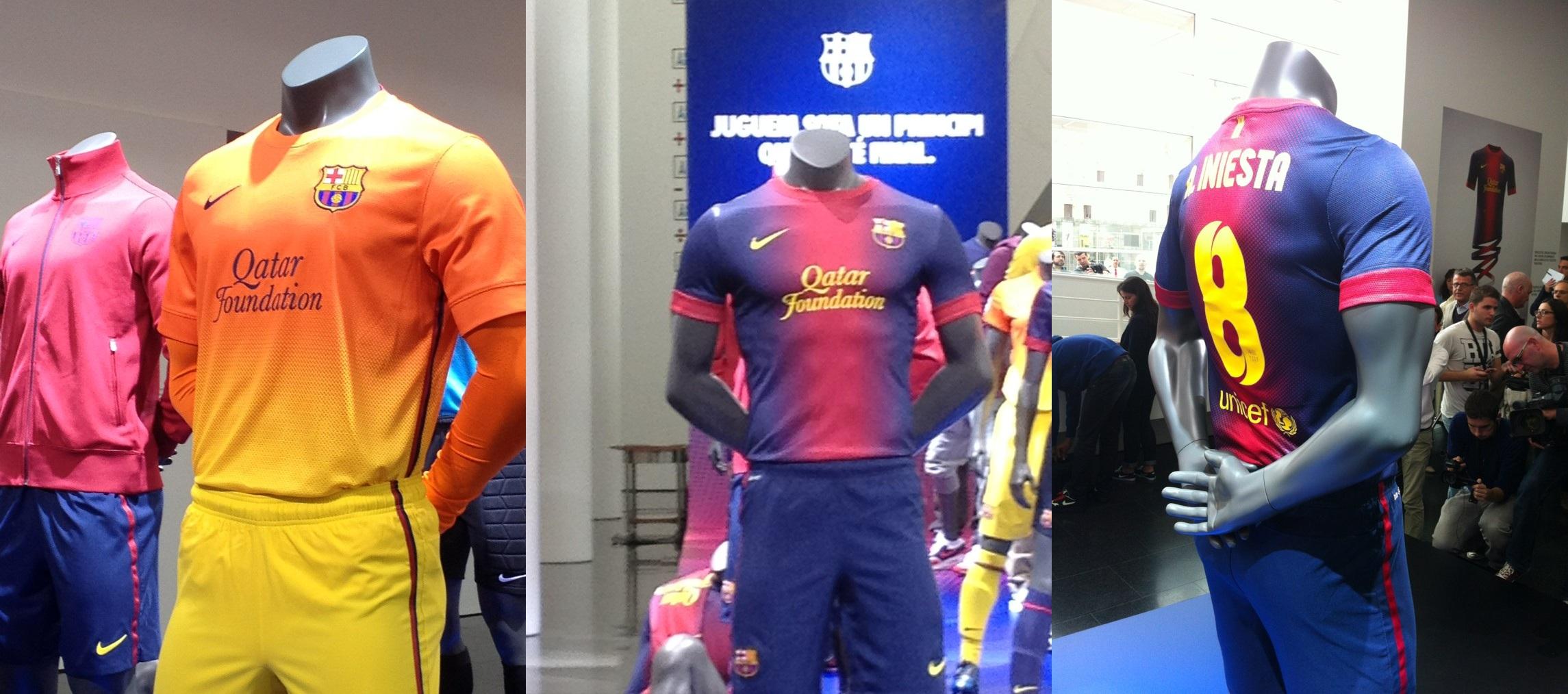 New Barcelona Kit 2012 2013