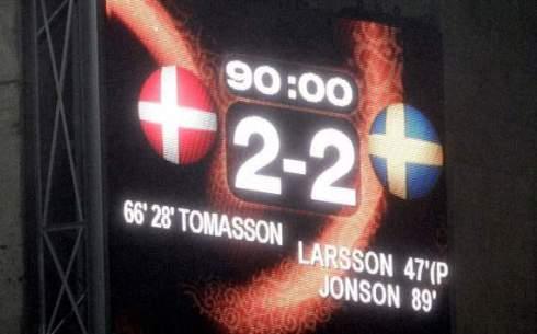 Denmark - Sweden Euro 2004