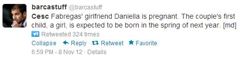 daniella semaan pregnancy tweet