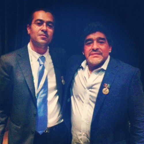 Meeting Diego Maradona