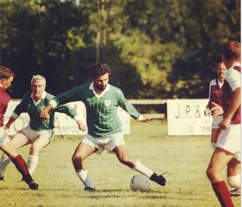 Sheikh Mohammed bin Rashid Al Maktoum Playing Football