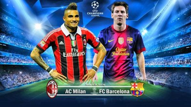 Whoever created this photo for the match, is either a genius or an utter fool.