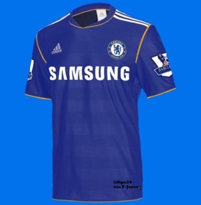 Chelsea FC Rumored Home Kit 2013-2014