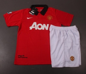 Manchester United Home Kit 2013-2014