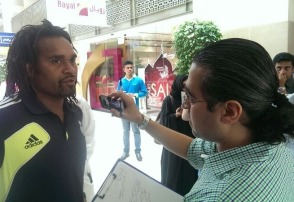 Interviewing Christian Karembeu
