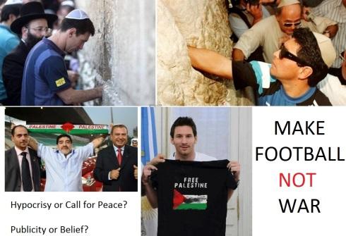 Messi and Maradona: A call for peace?