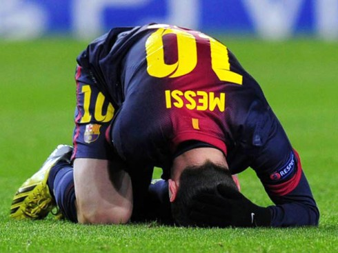 Messi Injured Again - And It is good if he used it to rest before Brazil 2014