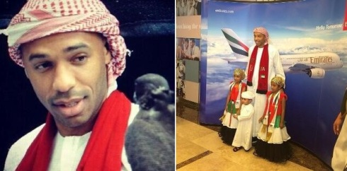 Thierry Henry at the UAE National Day Celebrations