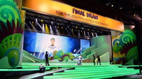 This is the last ceremony to be held before the Final Draw Ceremony on 6 December