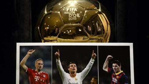Ballon d'OR 2013 Candidates