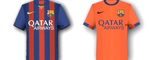 Barcelona Rumored Kit 2014 - 2015