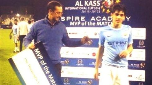 Zackarias Faour - Al Kass International Cup - MVP of the Match Award