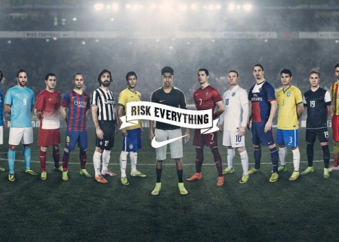 NIKE Risk Everything Football campaign 2014